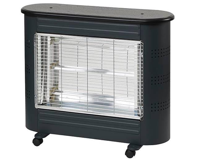 Heat Save straalkachel 1800 zwart