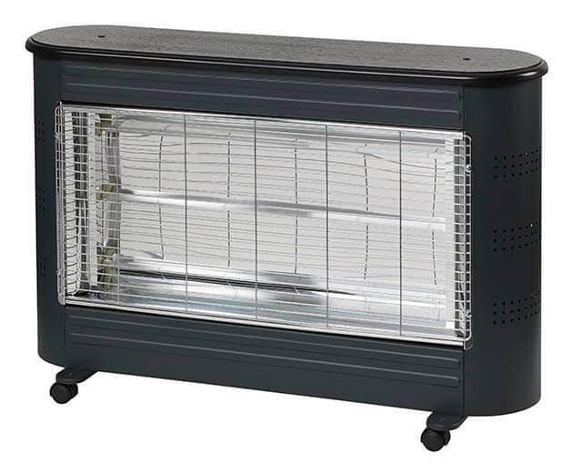 Heat Save straalkachel 2400w zwart